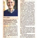 L'artciolo del Corriere di Chieri sulla mostra.
