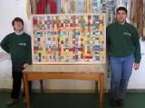 Sergio e Davide con il lavoro terminato.