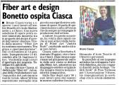 L' articolo del Corriere di Chieri
